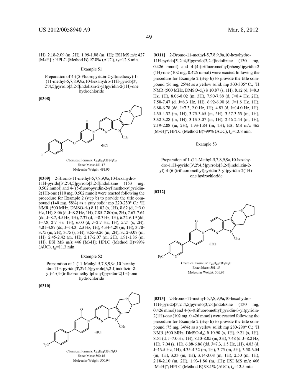 AZINONE-SUBSTITUTED AZAPOLYCYCLE MCH-1 ANTAGONISTS, METHODS OF MAKING, AND     USE THEREOF - diagram, schematic, and image 50
