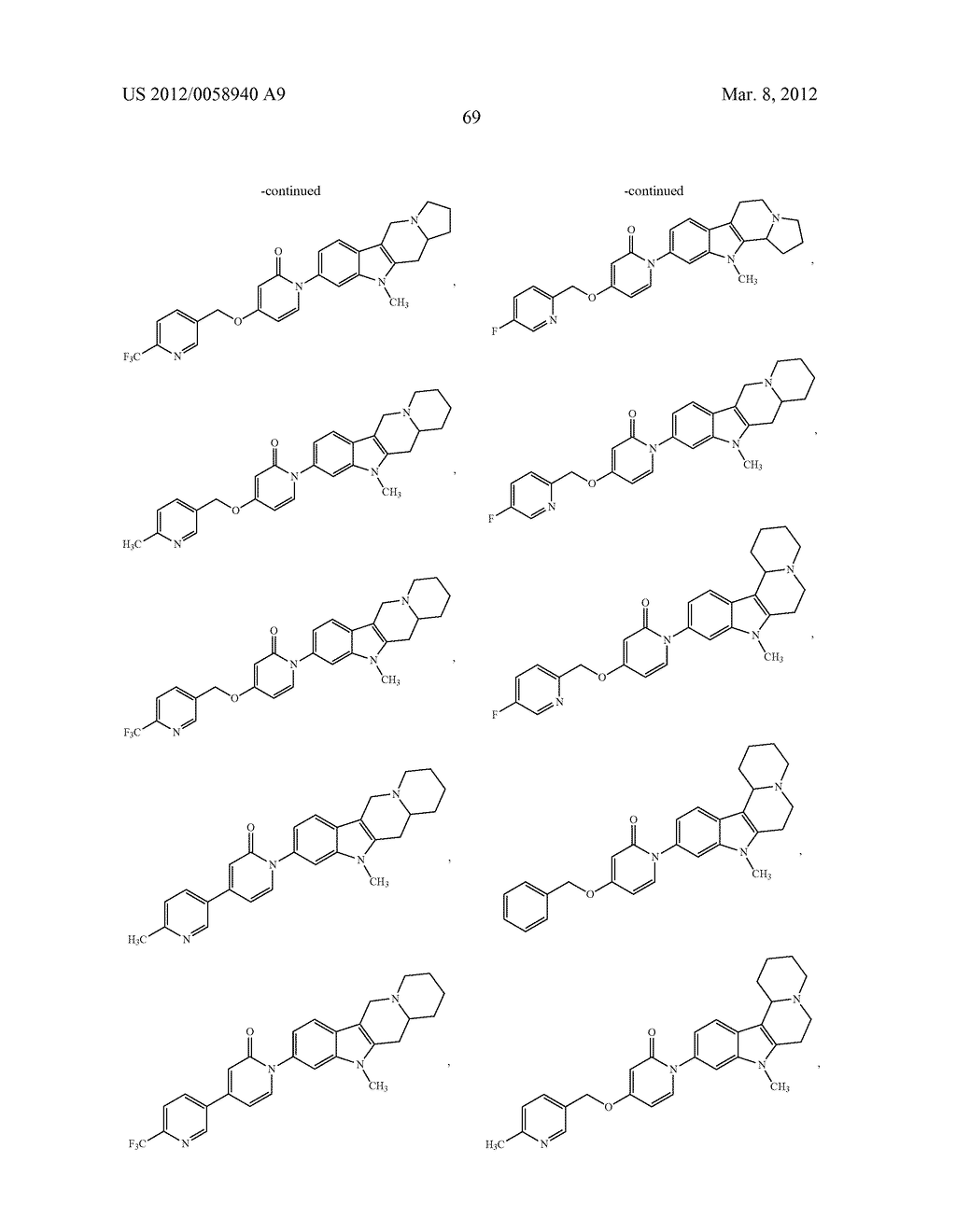 AZINONE-SUBSTITUTED AZAPOLYCYCLE MCH-1 ANTAGONISTS, METHODS OF MAKING, AND     USE THEREOF - diagram, schematic, and image 70