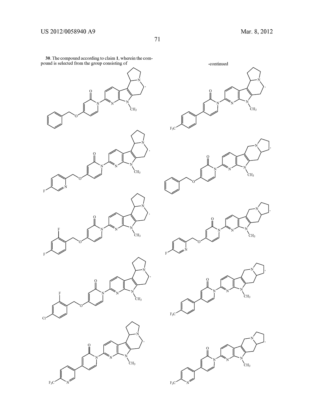 AZINONE-SUBSTITUTED AZAPOLYCYCLE MCH-1 ANTAGONISTS, METHODS OF MAKING, AND     USE THEREOF - diagram, schematic, and image 72