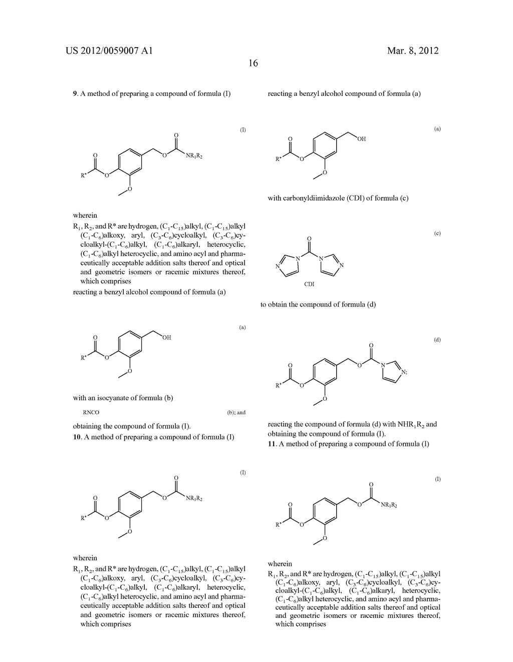 Pharmacologically-active vanilloid carbamates - diagram, schematic, and image 17
