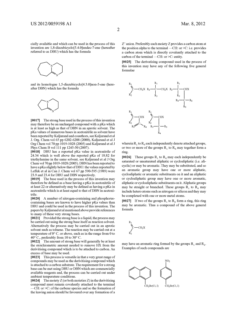 DERIVATISATION OF CARBON - diagram, schematic, and image 08