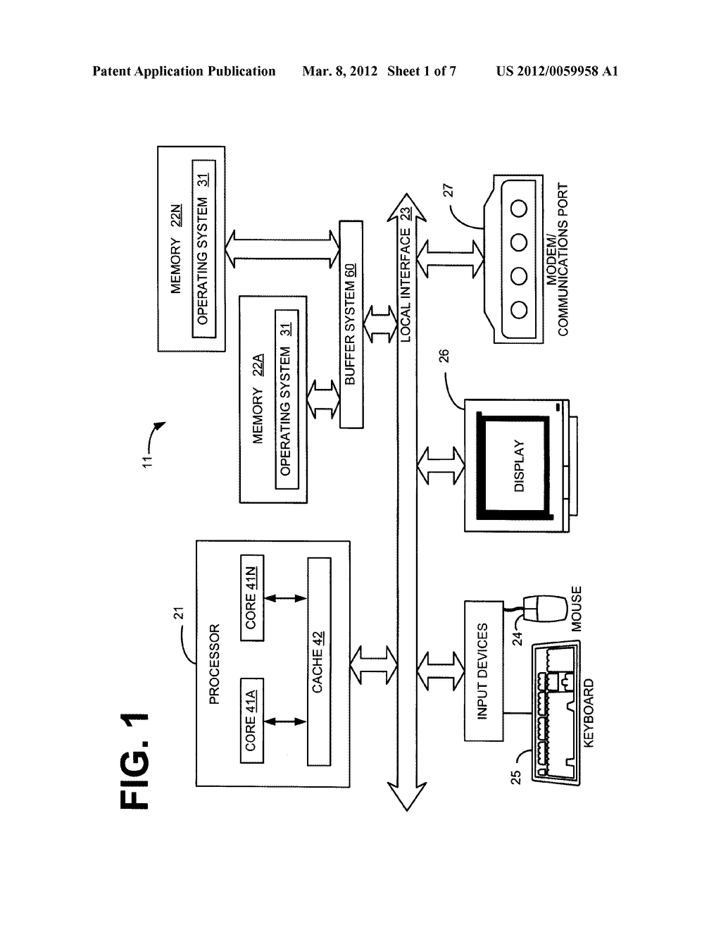 SYSTEM AND METHOD FOR A HIERARCHICAL BUFFER SYSTEM FOR A SHARED DATA BUS - diagram, schematic, and image 02