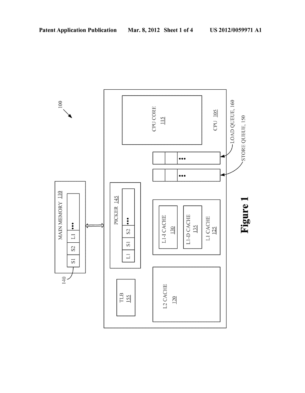 METHOD AND APPARATUS FOR HANDLING CRITICAL BLOCKING OF STORE-TO-LOAD     FORWARDING - diagram, schematic, and image 02
