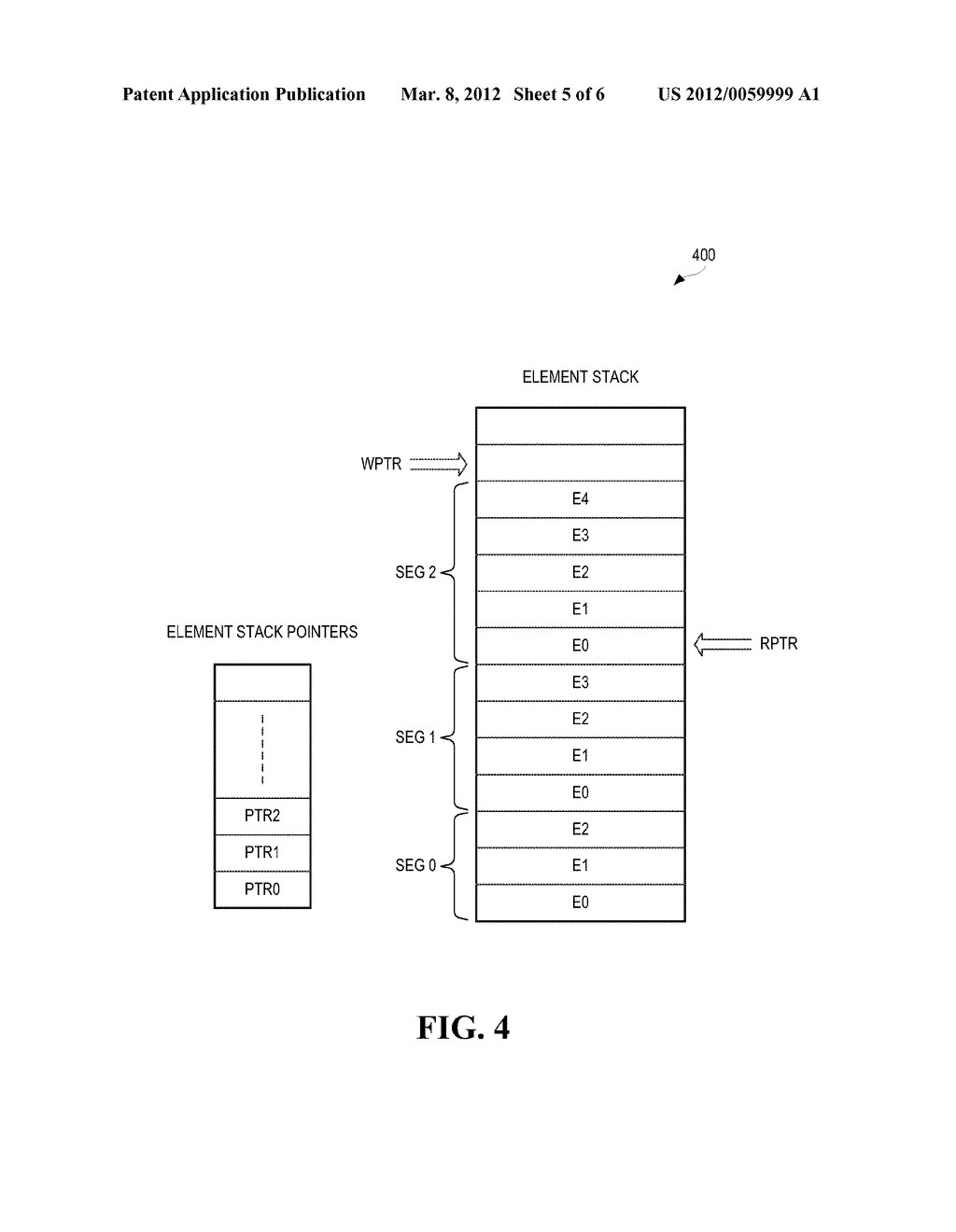 METHODS AND SYSTEMS FOR STORING VARIABLE WIDTH STACK ELEMENTS IN A SINGLE     MEMORY STACK - diagram, schematic, and image 06