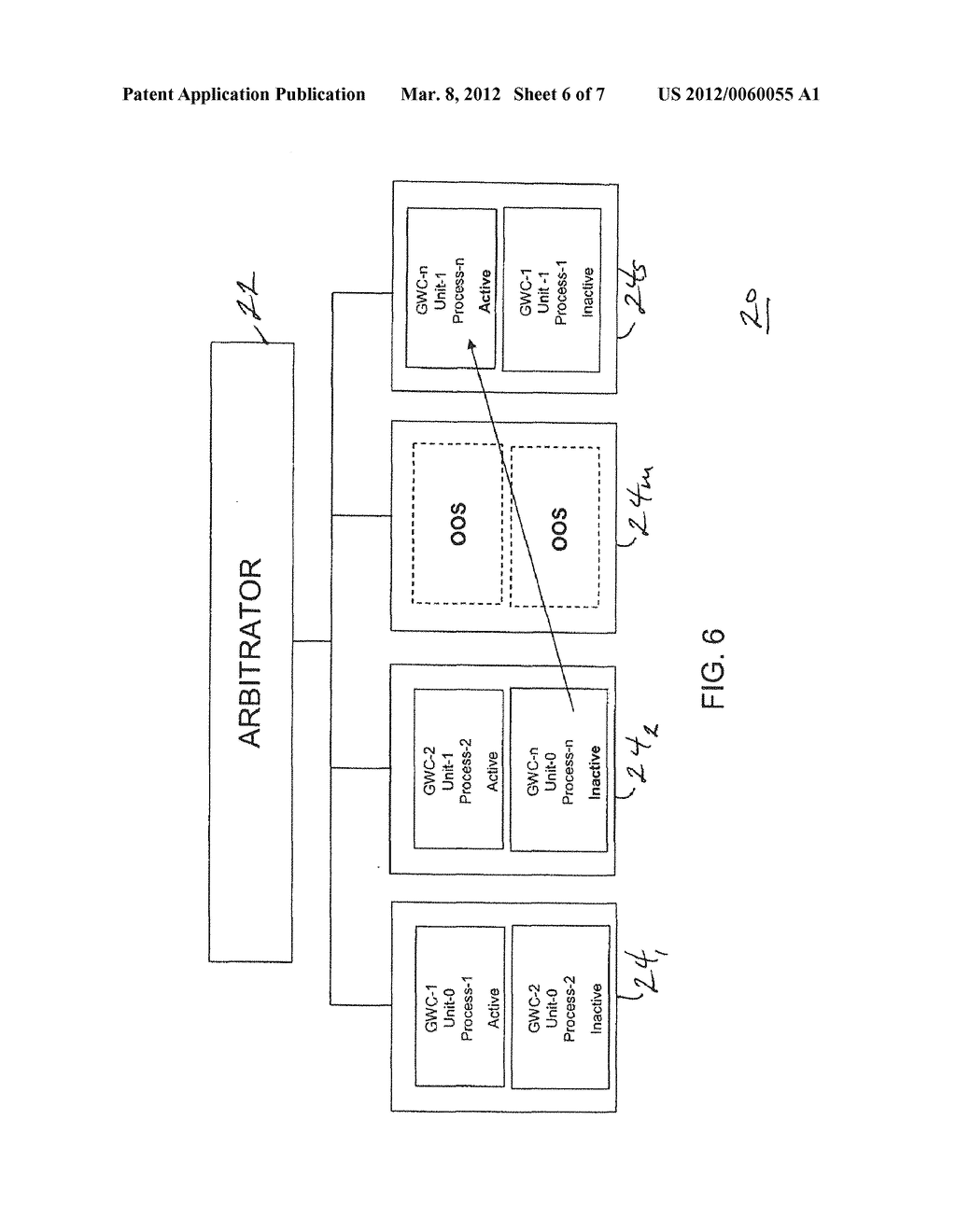 SYSTEM AND METHOD FOR RESPONDING TO FAILURE OF A HARDWARE LOCUS AT A     COMMUNICATION INSTALLATION - diagram, schematic, and image 07