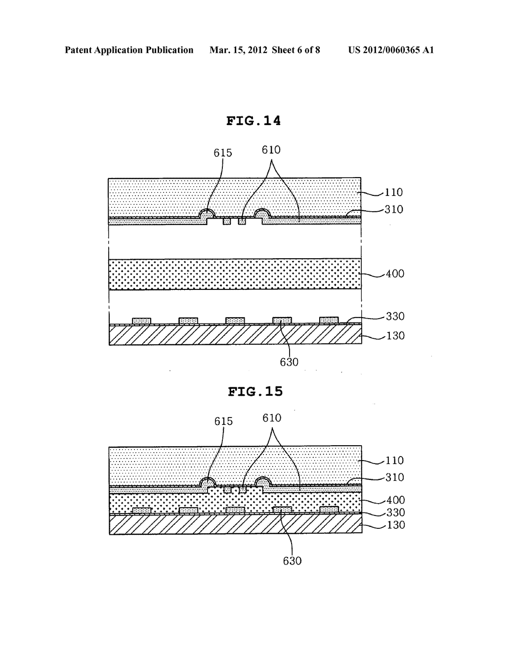 Method of manufacturing a printed circuit board having metal bumps - diagram, schematic, and image 07