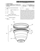MOLDED PLANTER WITH WIDE UPPER RIM diagram and image