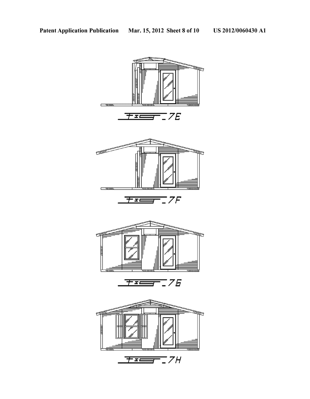 FOLDABLE ROOF FOR FOLDABLE HABITATION AND METHOD OF HANDLING AND STACKING     FOLDABLE HABITATIONS - diagram, schematic, and image 09