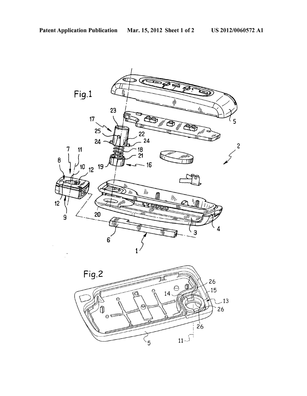PIVOTABLE KEY WITH REINFORCED POSITION LATCHING FOR ACTUATING A LOCK - diagram, schematic, and image 02