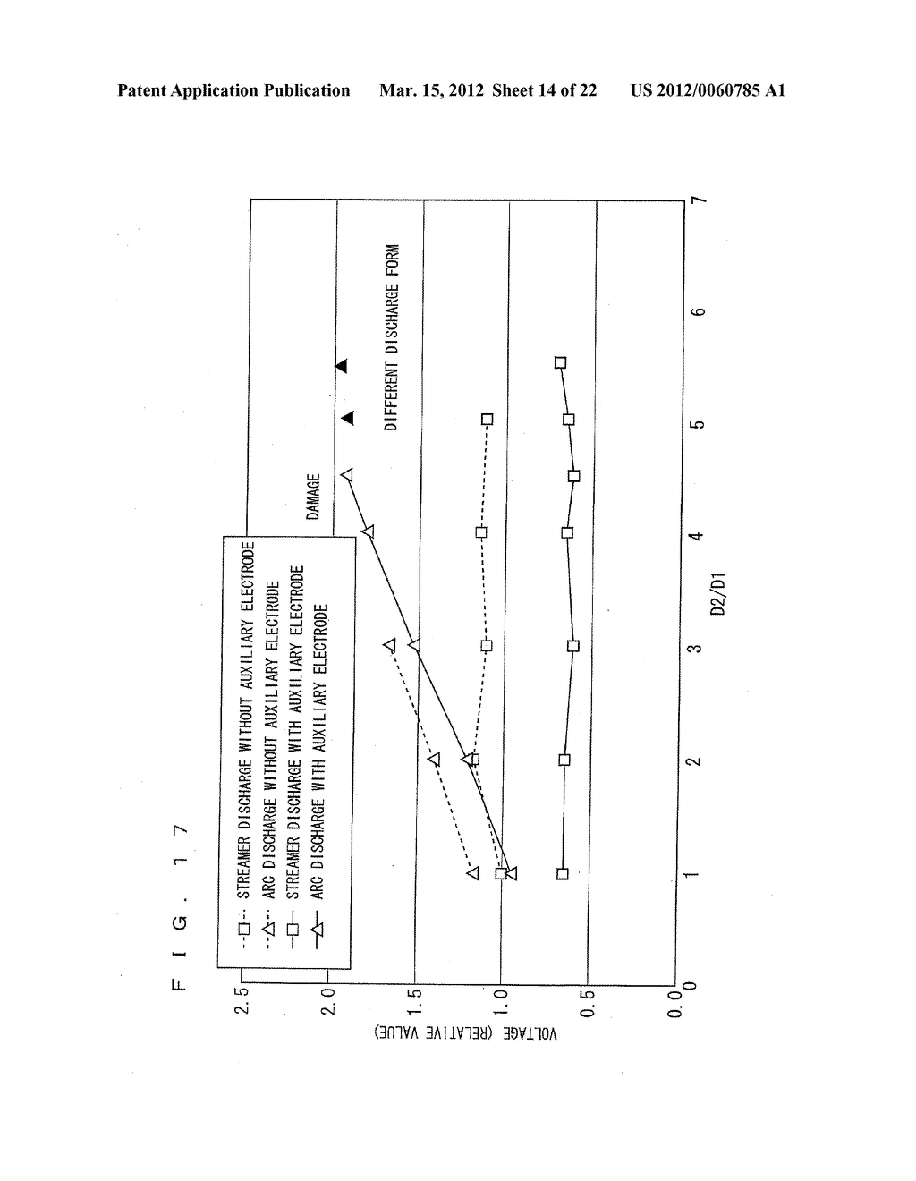 IGNITION DEVICE OF INTERNAL COMBUSTION ENGINE AND ELECTRODE STRUCTURE OF     THE IGNITION DEVICE - diagram, schematic, and image 15