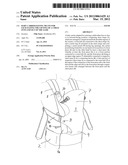BABY CARRIER HAVING MEANS FOR FACILITATING THE LIFTING OF A CHILD INTO AND     OUT OF THE SAME diagram and image