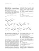 BINAPHTHYL COMPOUND AND ORGANIC LIGHT EMITTING ELEMENT USING THE SAME diagram and image