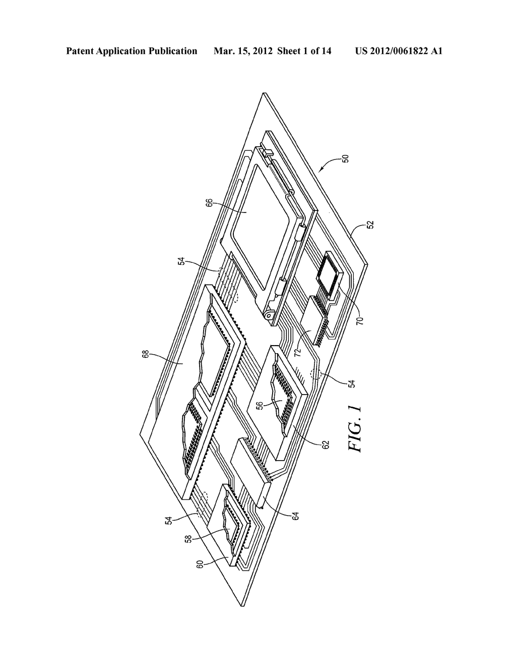 Semiconductor Device and Method of Forming Base Substrate With Cavities     Formed Through Etch-Resistant Conductive Layer for Bump Locking - diagram, schematic, and image 02