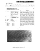 Ferromagnetic amorphous alloy ribbon with reduced surface protrusions,     method of casting and application thereof diagram and image