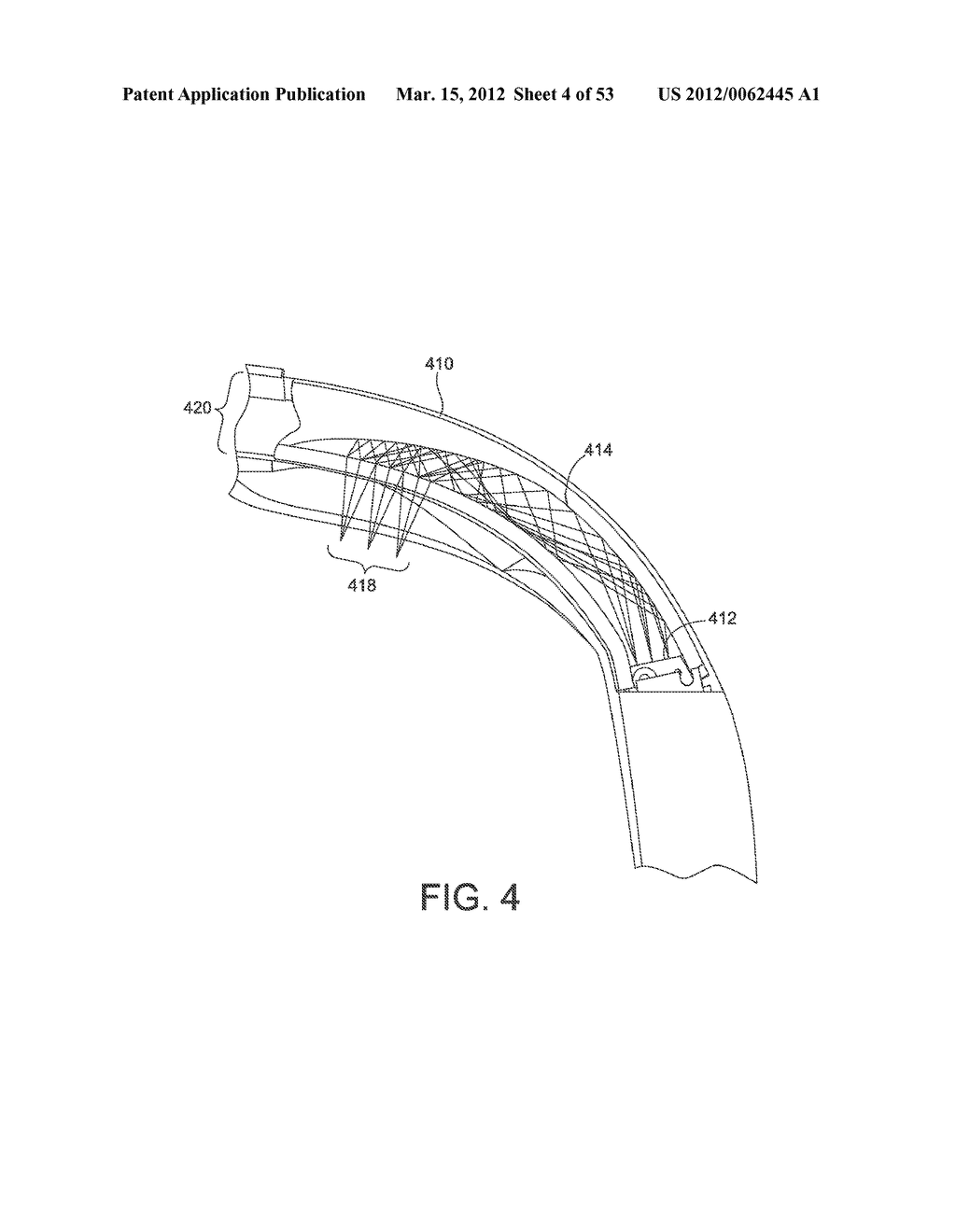 ADJUSTABLE WRAP AROUND EXTENDABLE ARM FOR A HEAD-MOUNTED DISPLAY - diagram, schematic, and image 05