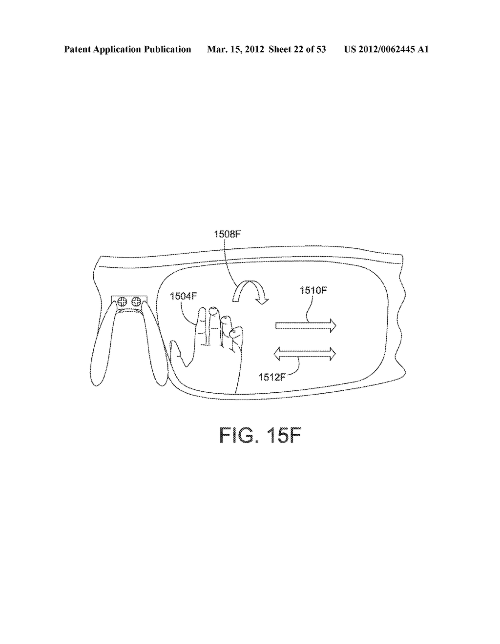 ADJUSTABLE WRAP AROUND EXTENDABLE ARM FOR A HEAD-MOUNTED DISPLAY - diagram, schematic, and image 23