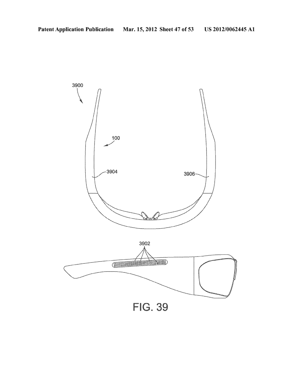 ADJUSTABLE WRAP AROUND EXTENDABLE ARM FOR A HEAD-MOUNTED DISPLAY - diagram, schematic, and image 48