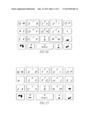 REDUCED QWERTY KEYBOARD SYSTEM THAT PROVIDES BETTER ACCURACY AND     ASSOCIATED METHOD diagram and image