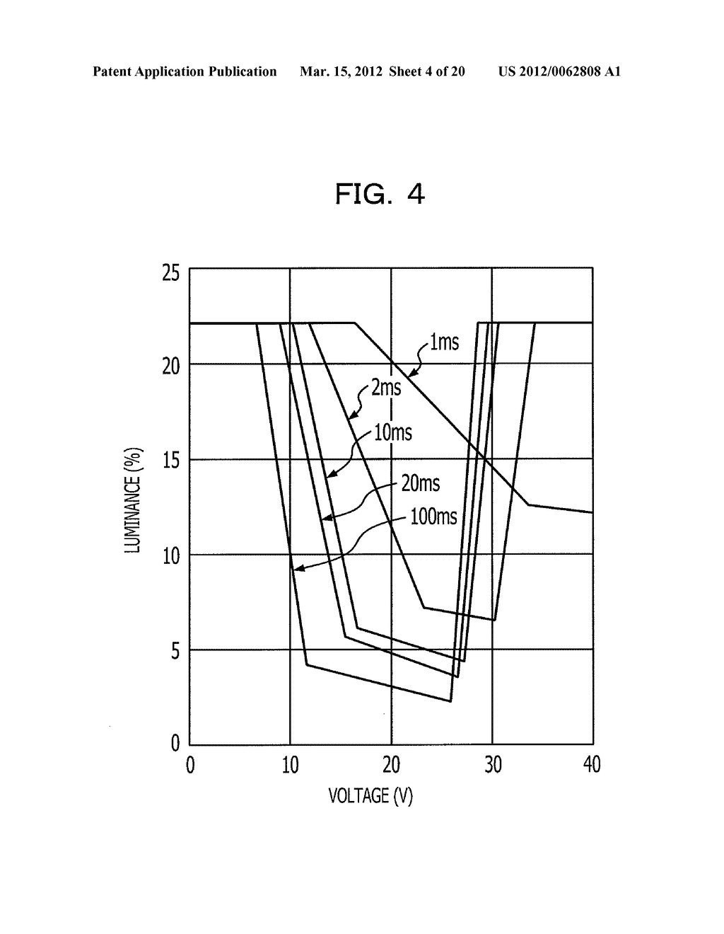 CHOLESTERIC LIQUID CRYSTAL DISPLAY DEVICE AND SIMPLE MATRIX DRIVING METHOD - diagram, schematic, and image 05