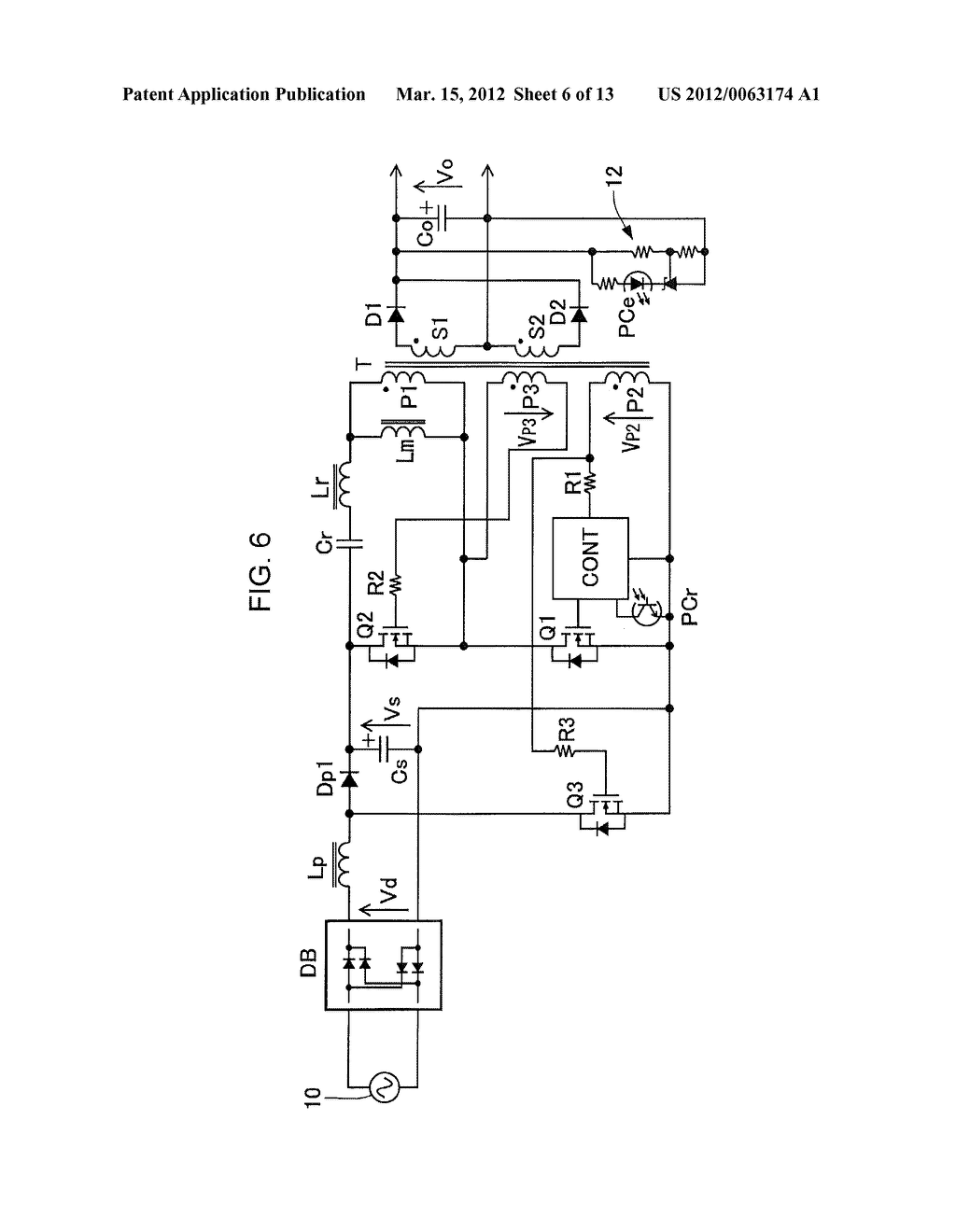 POWER FACTOR CORRECT CURRENT RESONANCE CONVERTER - diagram, schematic, and image 07