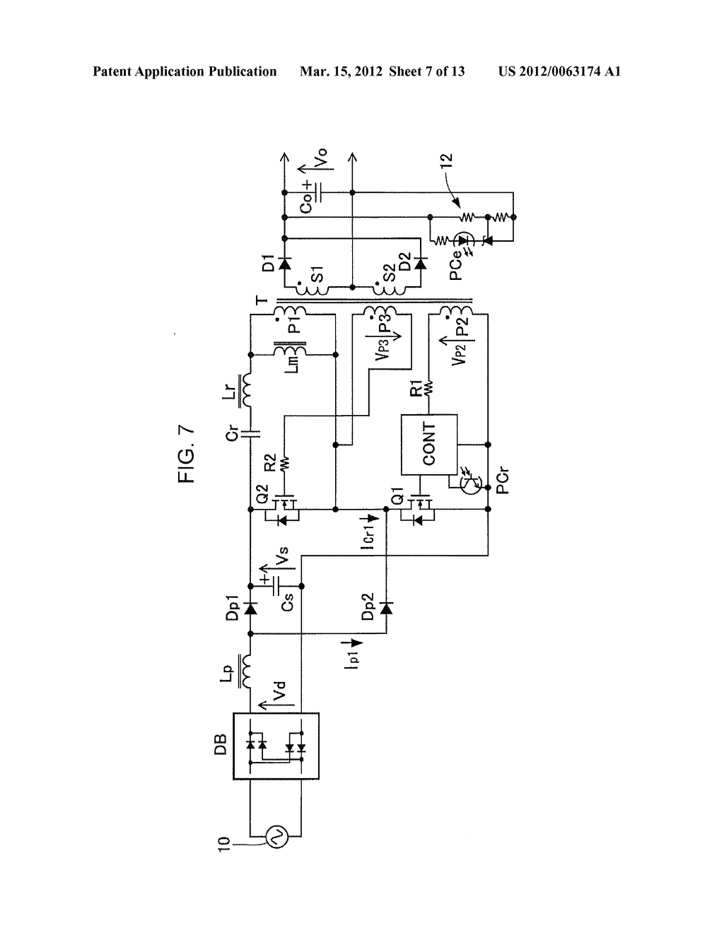 POWER FACTOR CORRECT CURRENT RESONANCE CONVERTER - diagram, schematic, and image 08