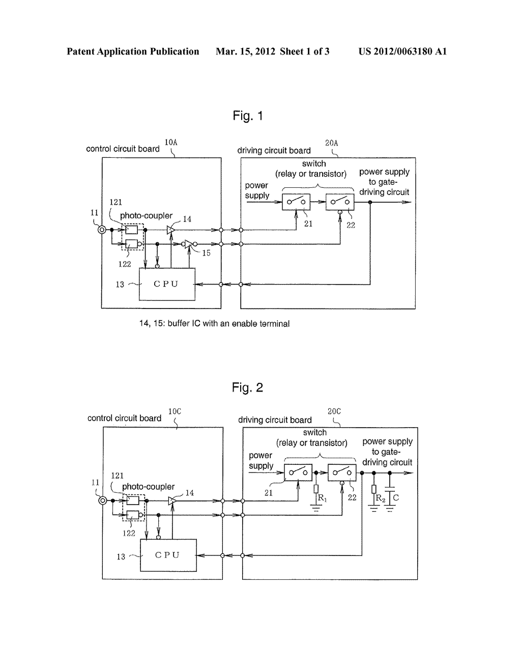 Protection Circuit for a Power Conversion Apparatus - diagram, schematic, and image 02