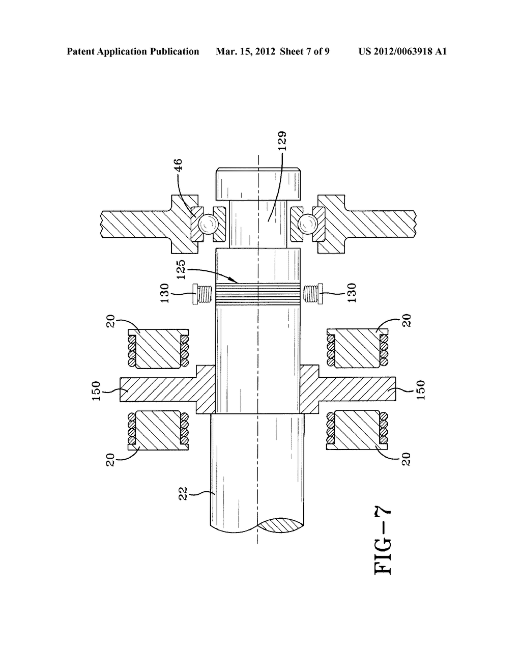 APPARATUS AND METHOD FOR DETERMINING CLEARANCE OF MECHANICAL BACK-UP     BEARINGS OF TURBOMACHINERY UTILIZING ELECTROMAGNETIC BEARINGS - diagram, schematic, and image 08