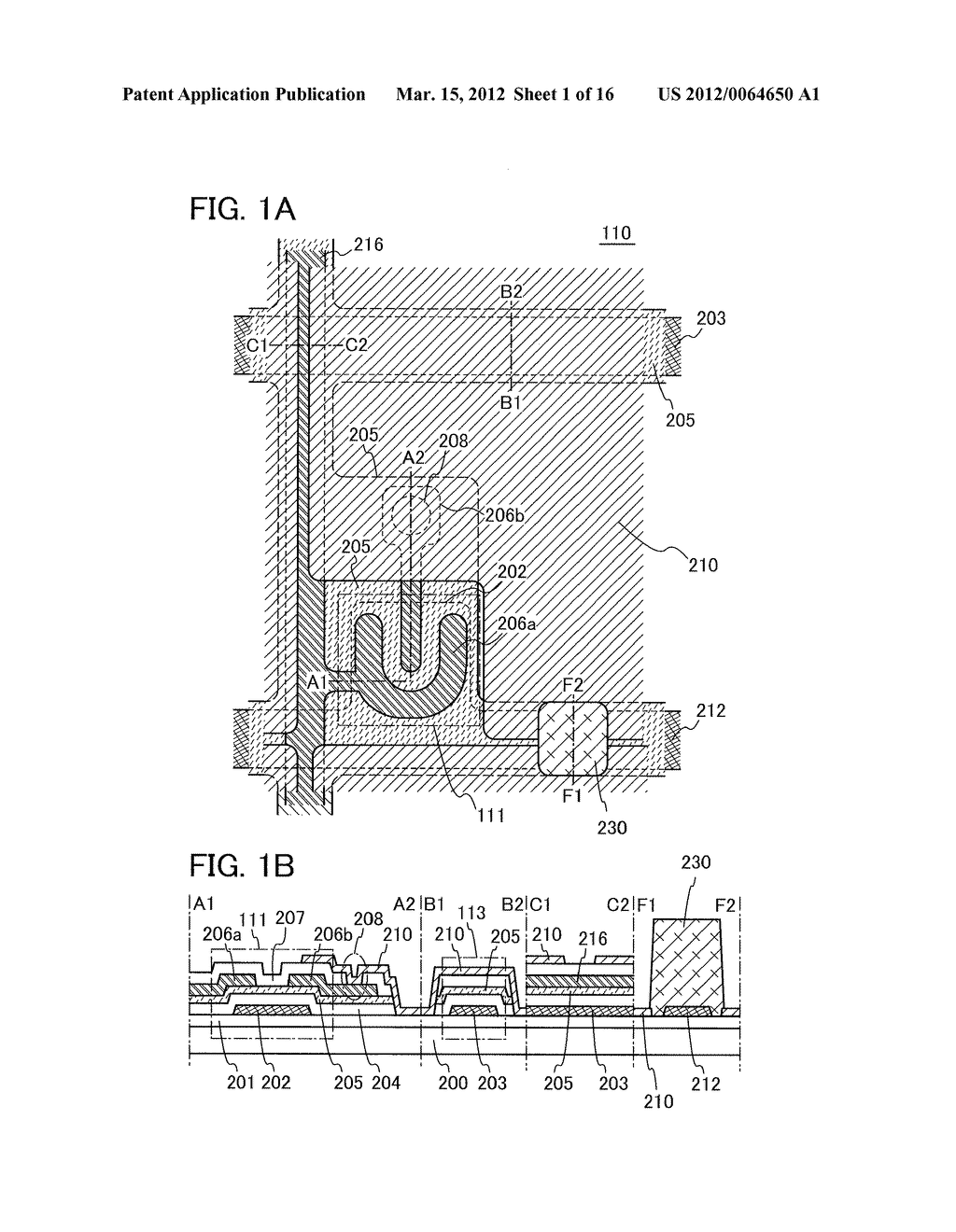 MANUFACTURING METHOD OF THIN FILM TRANSISTOR AND LIQUID CRYSTAL DISPLAY     DEVICE - diagram, schematic, and image 02