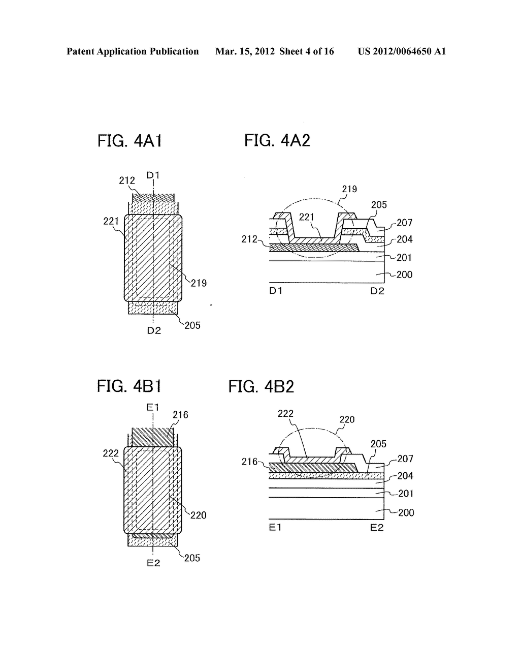MANUFACTURING METHOD OF THIN FILM TRANSISTOR AND LIQUID CRYSTAL DISPLAY     DEVICE - diagram, schematic, and image 05