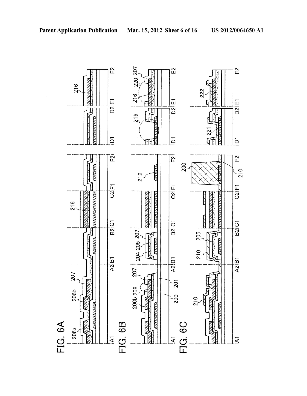 MANUFACTURING METHOD OF THIN FILM TRANSISTOR AND LIQUID CRYSTAL DISPLAY     DEVICE - diagram, schematic, and image 07