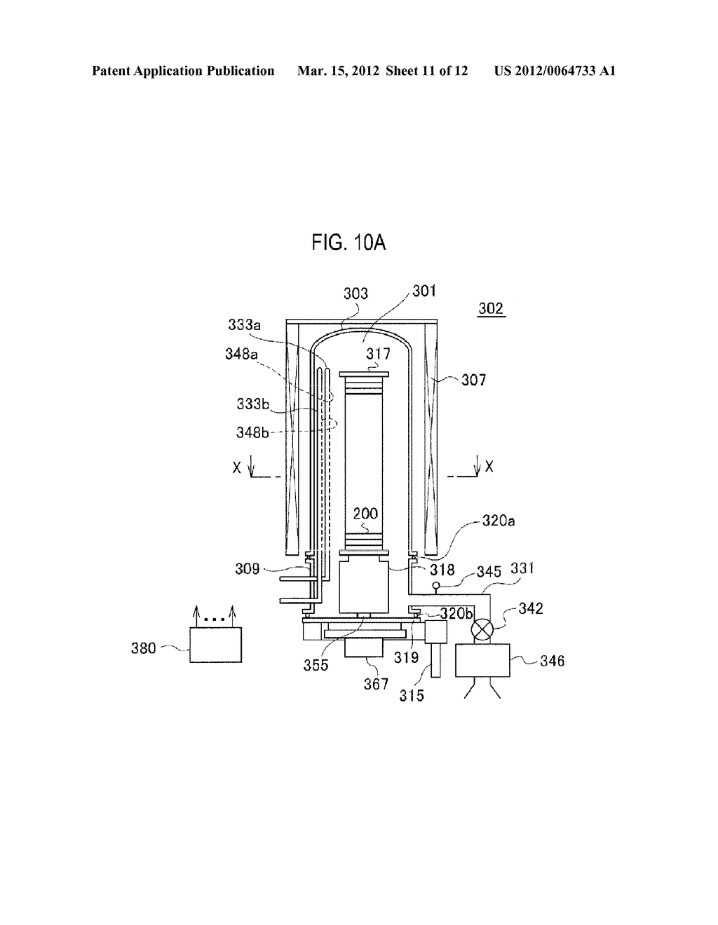 METHOD OF MANUFACTURING SEMICONDUCTOR DEVICE AND SUBSTRATE PROCESSING     APPARATUS - diagram, schematic, and image 12