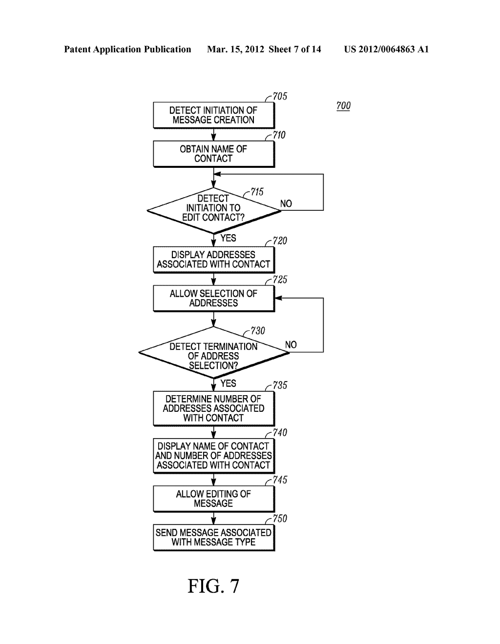 Method of an Electronic Device for Providing Contact or Group Information     for a Contact or Group of Contacts - diagram, schematic, and image 08