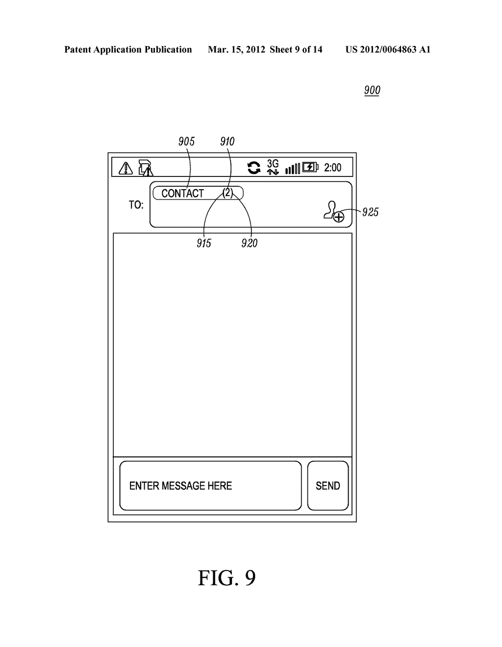 Method of an Electronic Device for Providing Contact or Group Information     for a Contact or Group of Contacts - diagram, schematic, and image 10