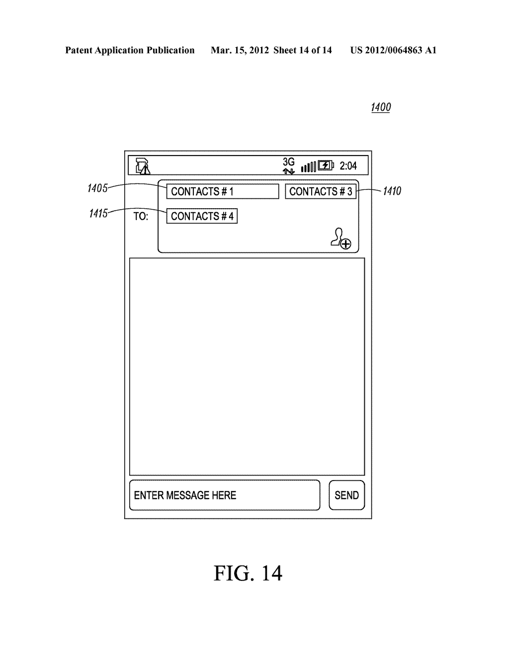 Method of an Electronic Device for Providing Contact or Group Information     for a Contact or Group of Contacts - diagram, schematic, and image 15