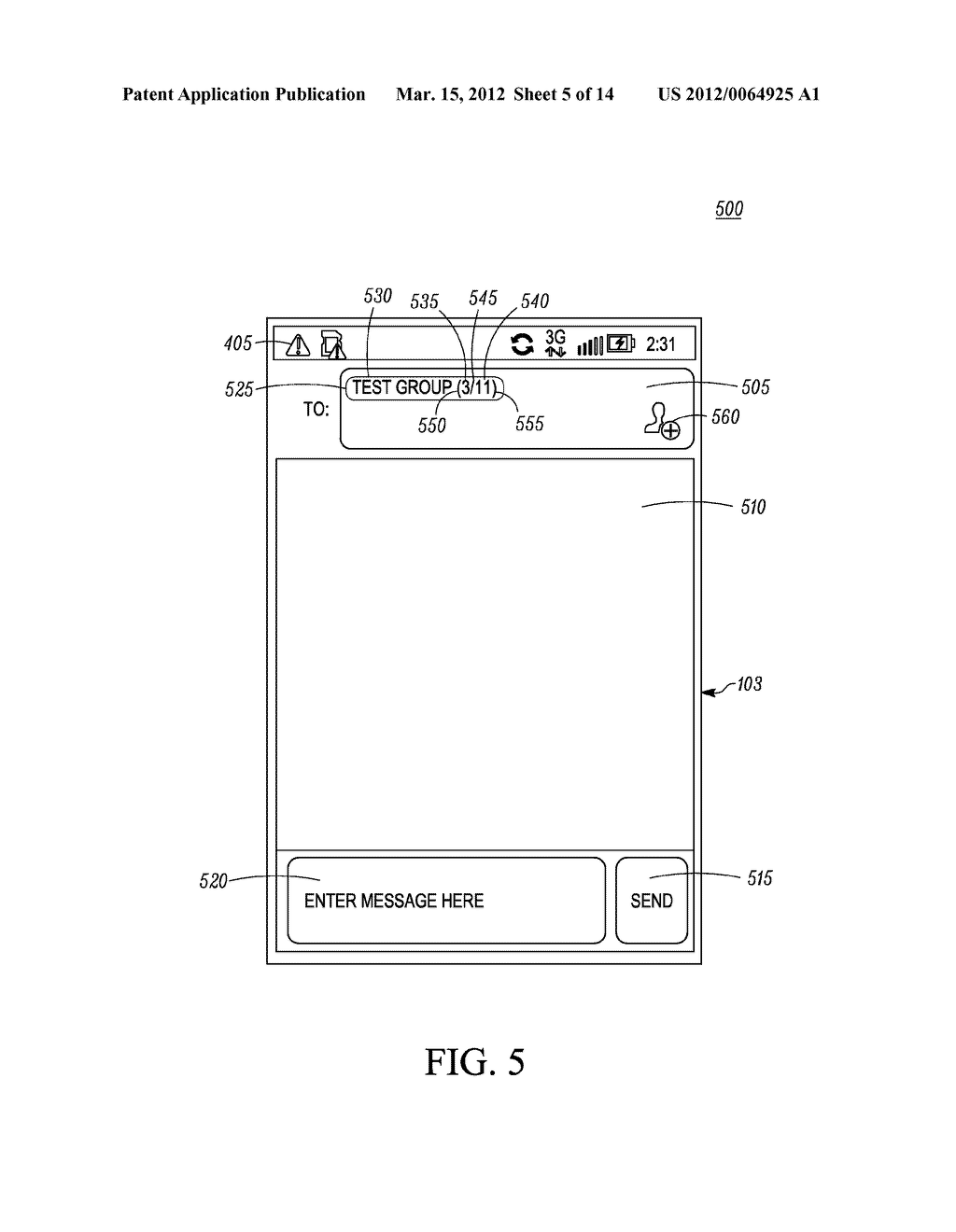 Method for an Electronic Device for Providing Group Information Associated     with a Group of Contacts - diagram, schematic, and image 06