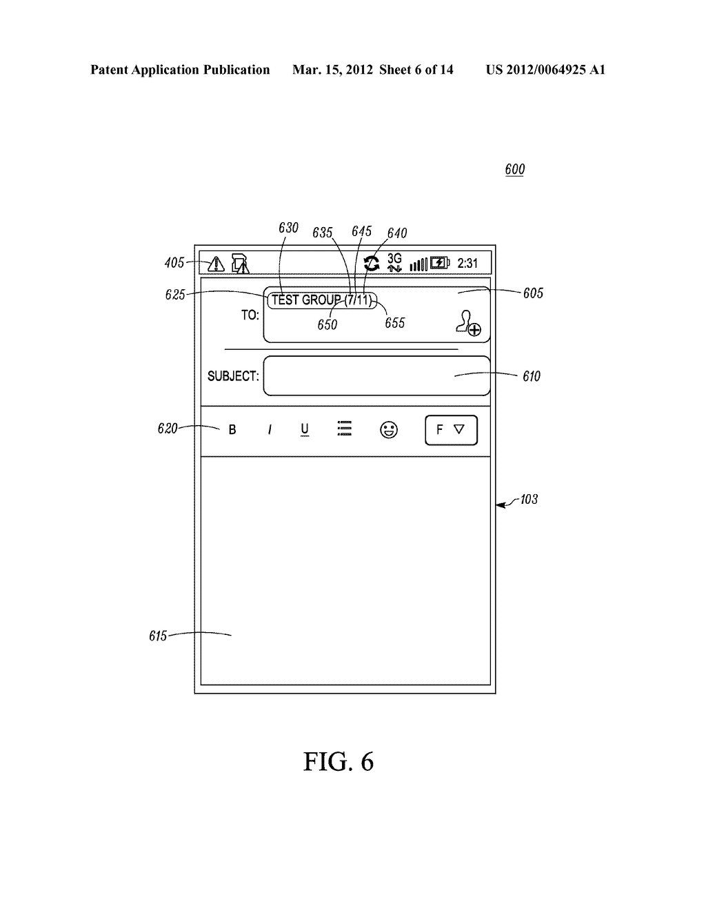 Method for an Electronic Device for Providing Group Information Associated     with a Group of Contacts - diagram, schematic, and image 07