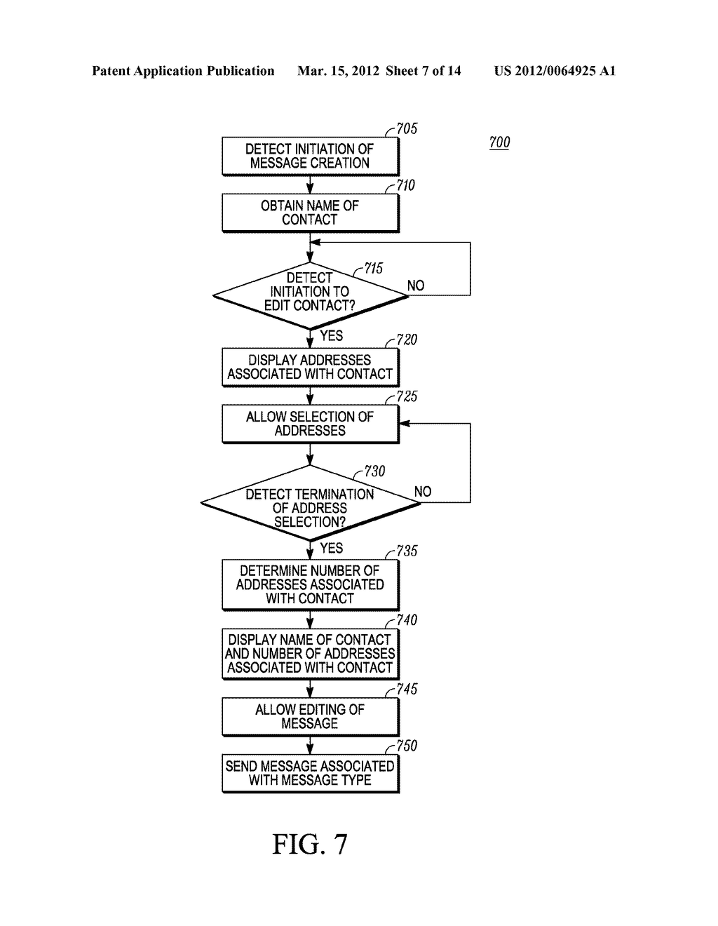 Method for an Electronic Device for Providing Group Information Associated     with a Group of Contacts - diagram, schematic, and image 08