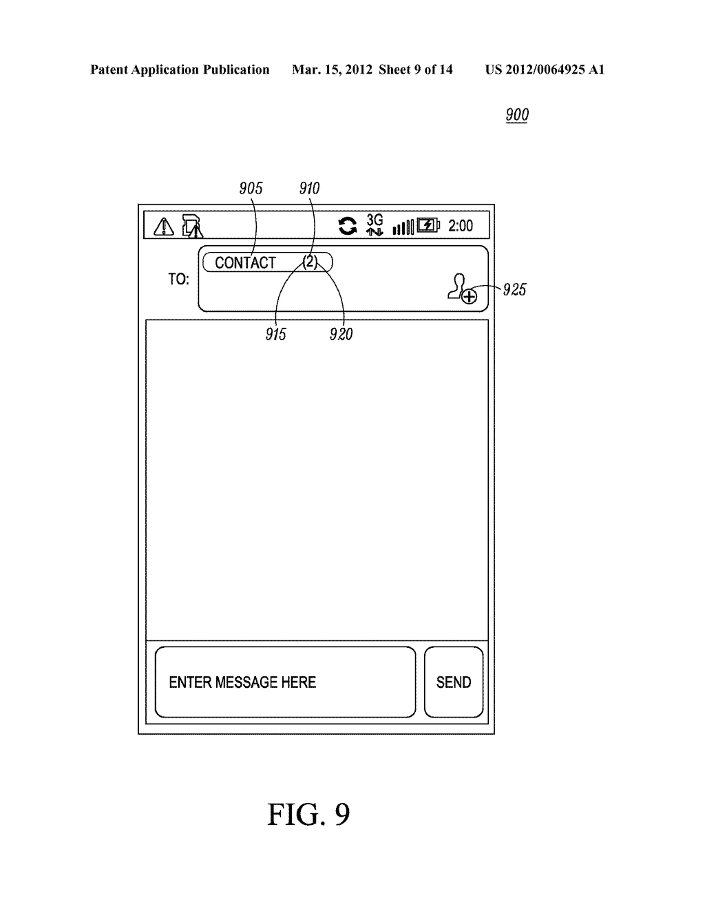 Method for an Electronic Device for Providing Group Information Associated     with a Group of Contacts - diagram, schematic, and image 10