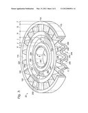 ANGLED SPOKE PULLEY DESIGN diagram and image