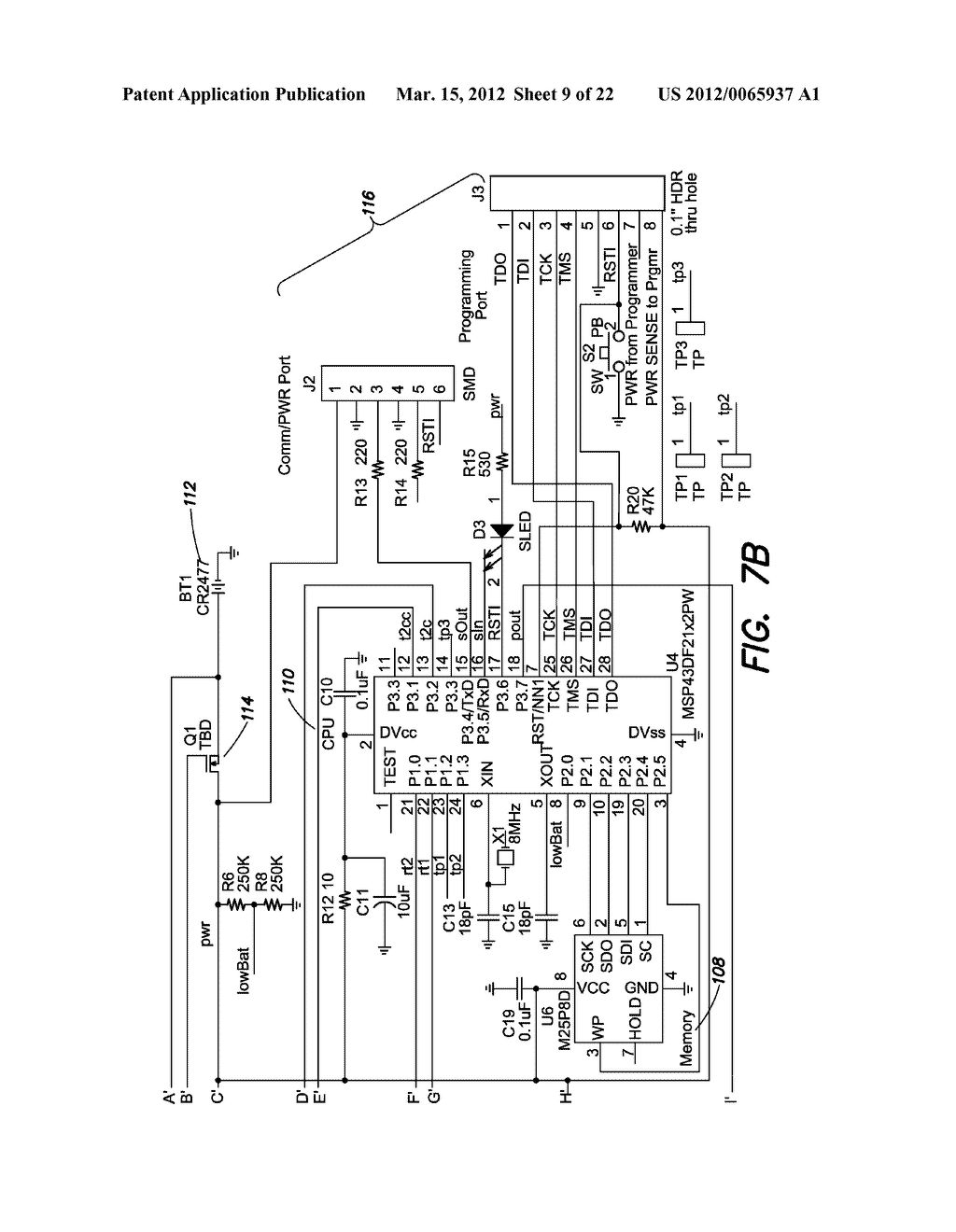 METHODS AND APPARATUS FOR MEASURING TECHNICAL PARAMETERS OF EQUIPMENT,     TOOLS AND COMPONENTS VIA CONFORMAL ELECTRONICS - diagram, schematic, and image 10