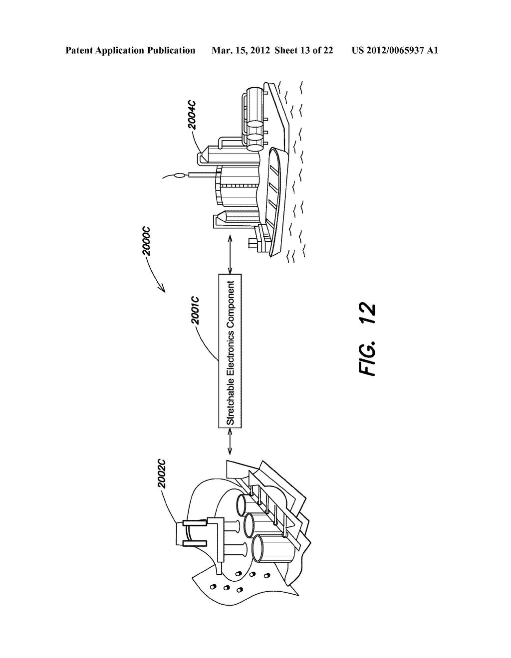 METHODS AND APPARATUS FOR MEASURING TECHNICAL PARAMETERS OF EQUIPMENT,     TOOLS AND COMPONENTS VIA CONFORMAL ELECTRONICS - diagram, schematic, and image 14
