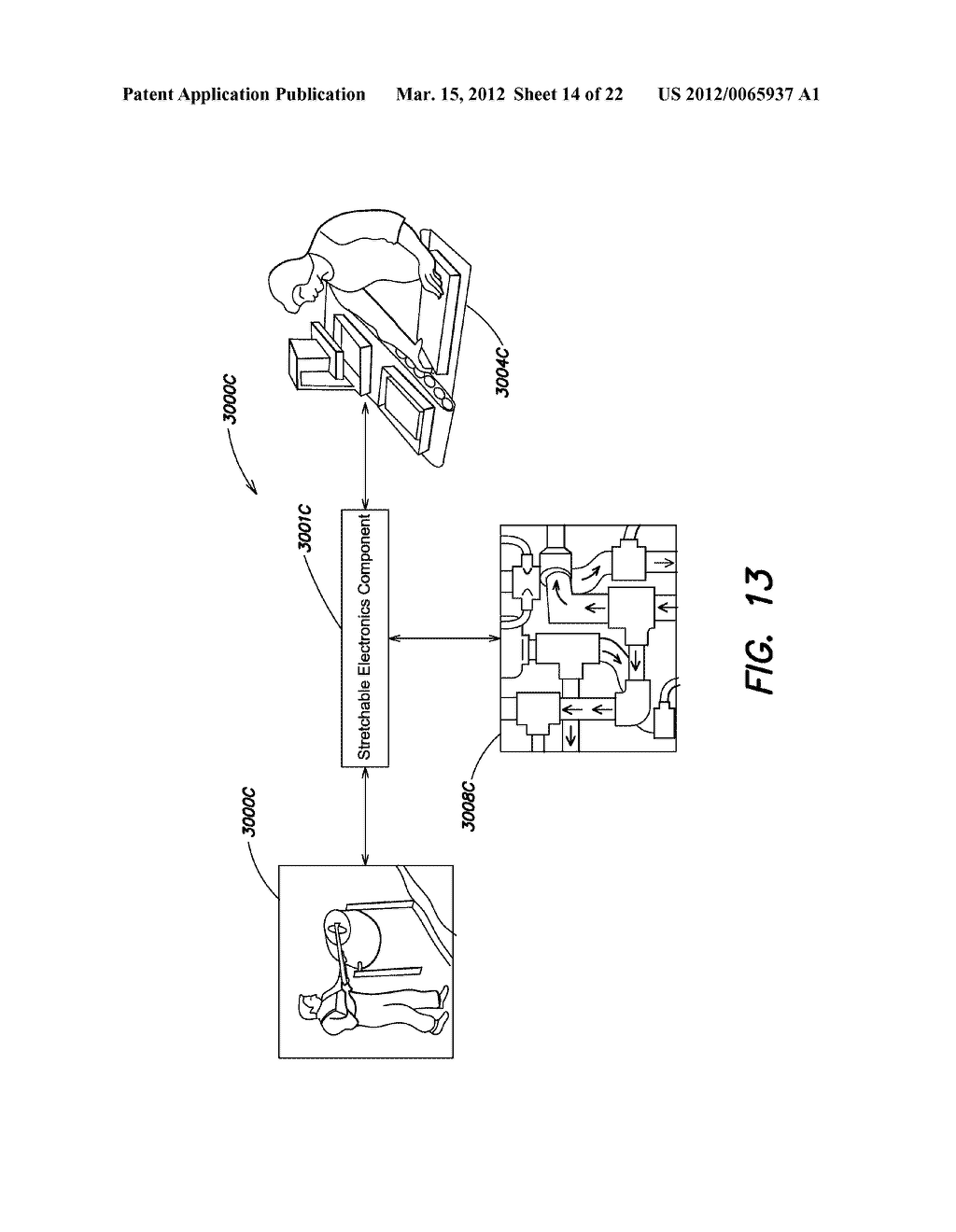 METHODS AND APPARATUS FOR MEASURING TECHNICAL PARAMETERS OF EQUIPMENT,     TOOLS AND COMPONENTS VIA CONFORMAL ELECTRONICS - diagram, schematic, and image 15