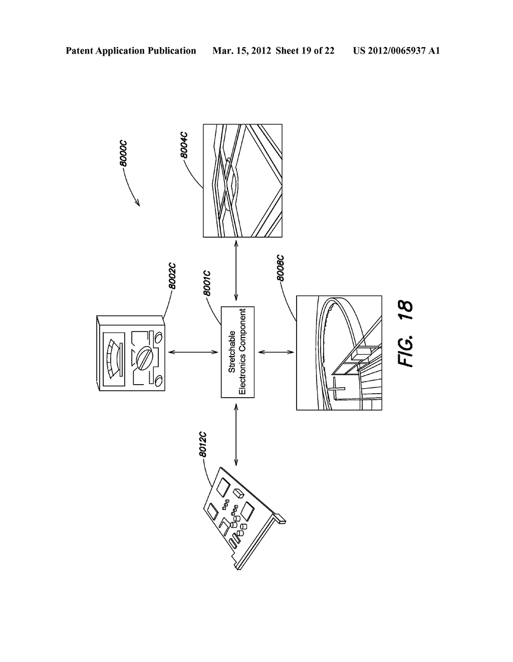 METHODS AND APPARATUS FOR MEASURING TECHNICAL PARAMETERS OF EQUIPMENT,     TOOLS AND COMPONENTS VIA CONFORMAL ELECTRONICS - diagram, schematic, and image 20