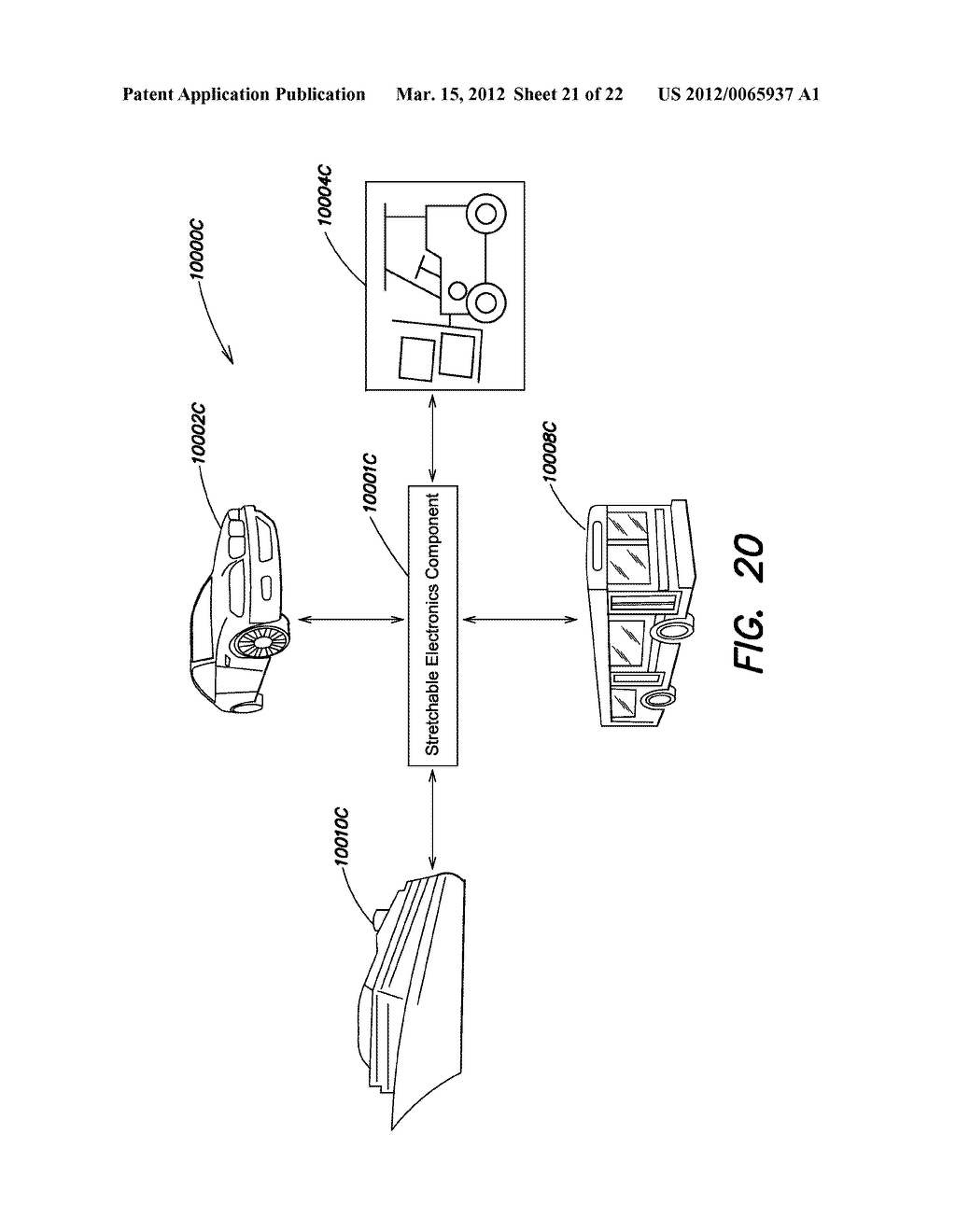 METHODS AND APPARATUS FOR MEASURING TECHNICAL PARAMETERS OF EQUIPMENT,     TOOLS AND COMPONENTS VIA CONFORMAL ELECTRONICS - diagram, schematic, and image 22