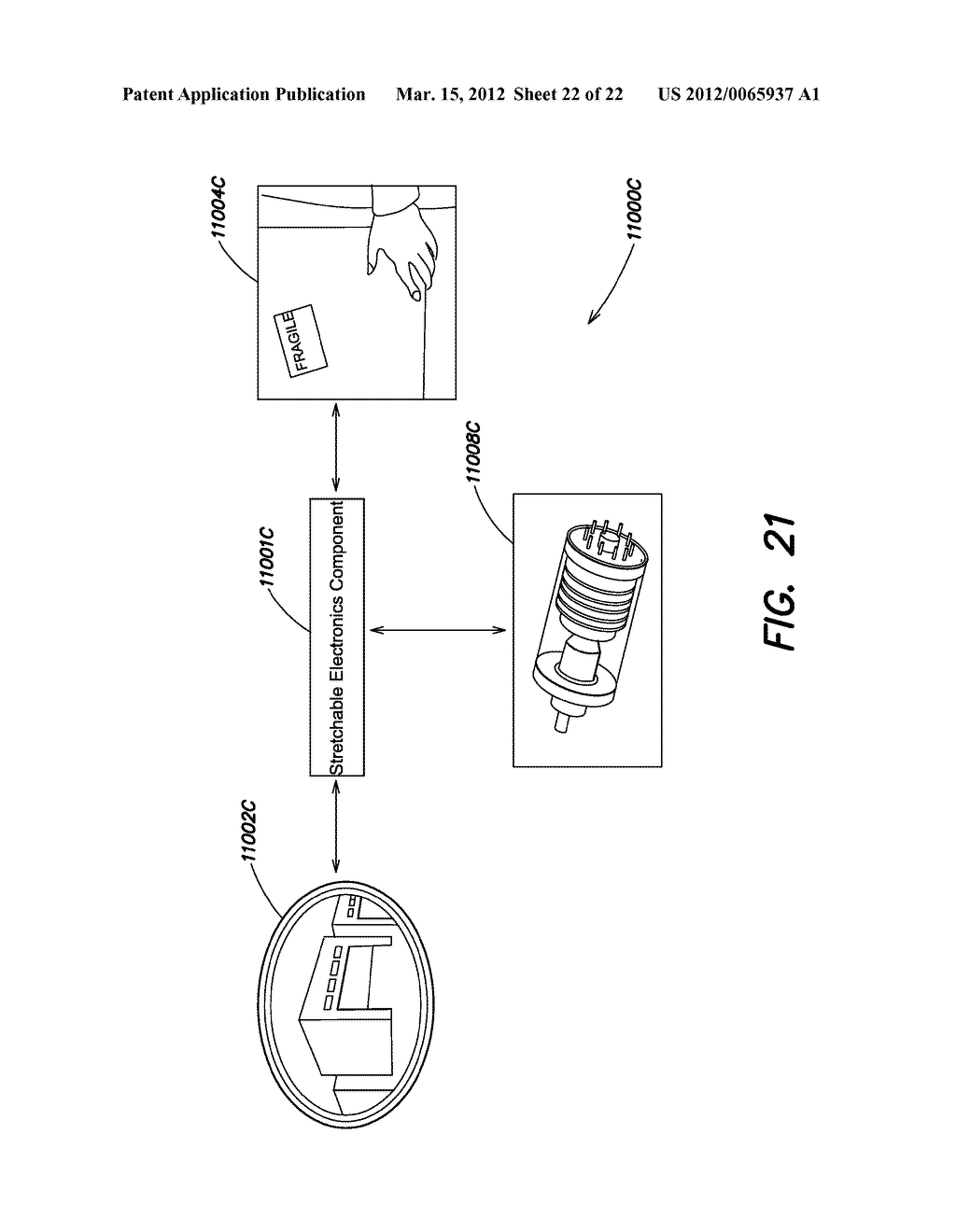 METHODS AND APPARATUS FOR MEASURING TECHNICAL PARAMETERS OF EQUIPMENT,     TOOLS AND COMPONENTS VIA CONFORMAL ELECTRONICS - diagram, schematic, and image 23