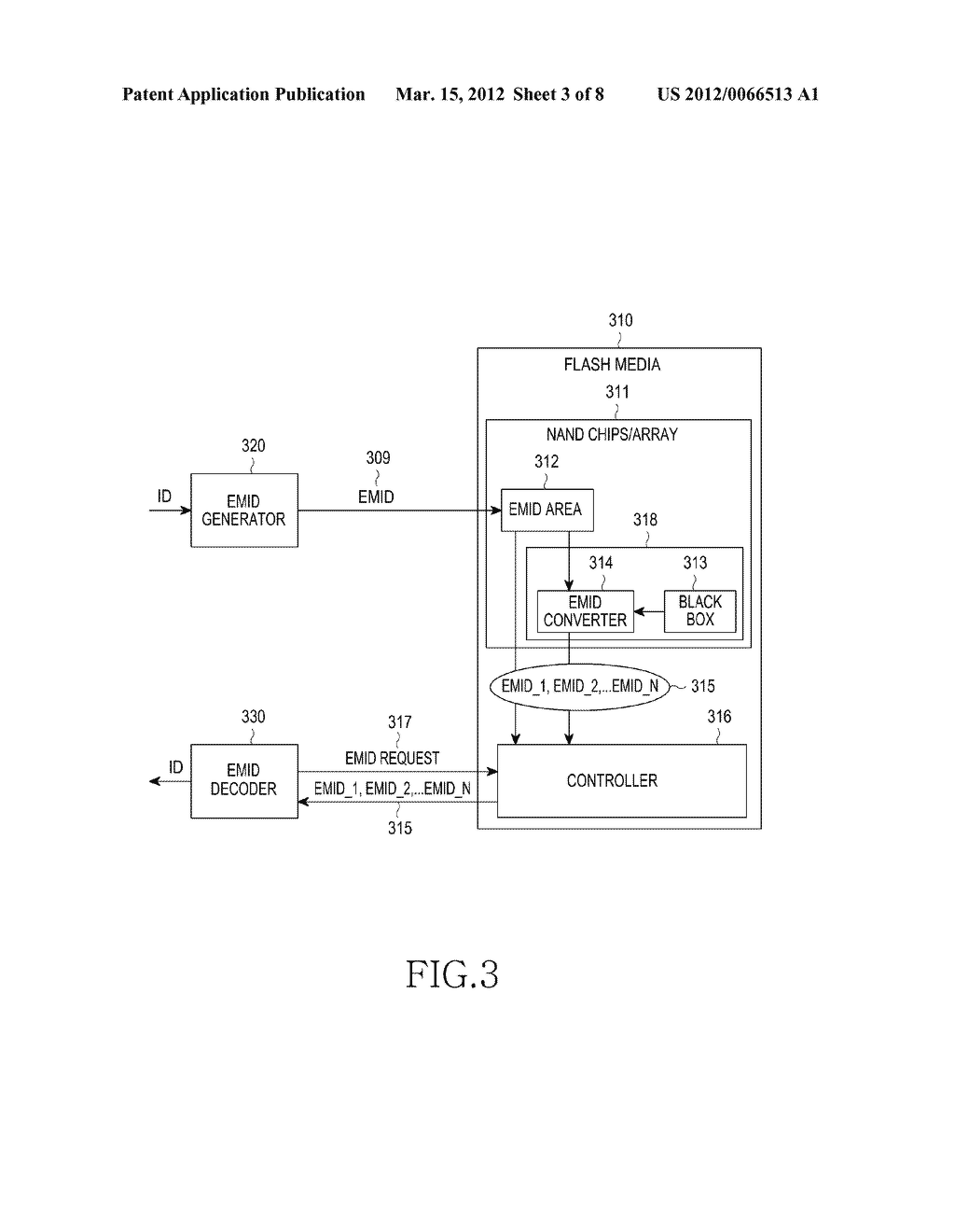 METHOD AND APPARATUS FOR AUTHENTICATING A NON-VOLATILE MEMORY DEVICE - diagram, schematic, and image 04