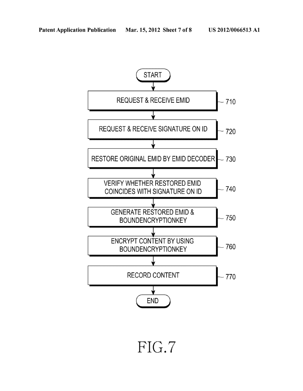 METHOD AND APPARATUS FOR AUTHENTICATING A NON-VOLATILE MEMORY DEVICE - diagram, schematic, and image 08