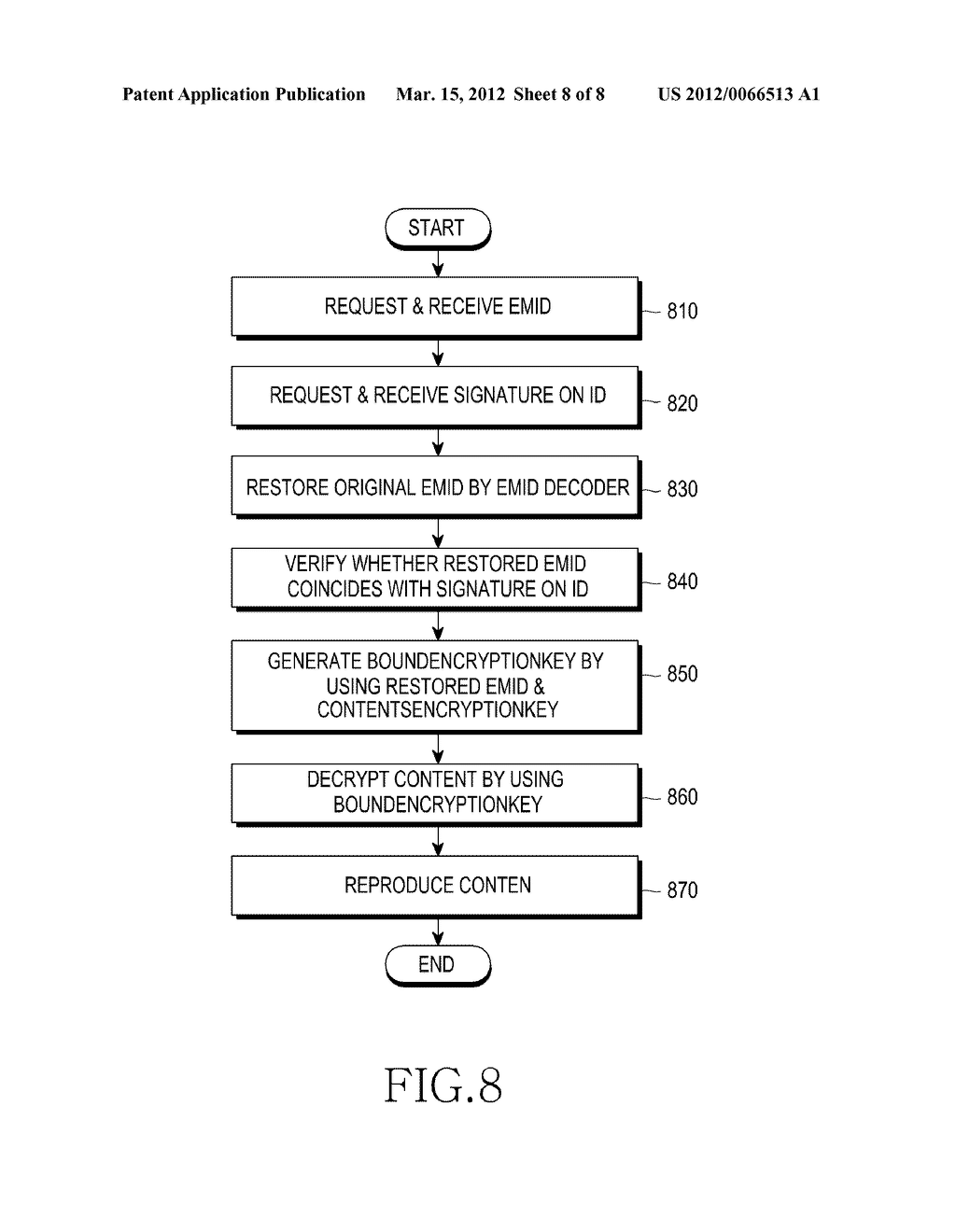 METHOD AND APPARATUS FOR AUTHENTICATING A NON-VOLATILE MEMORY DEVICE - diagram, schematic, and image 09