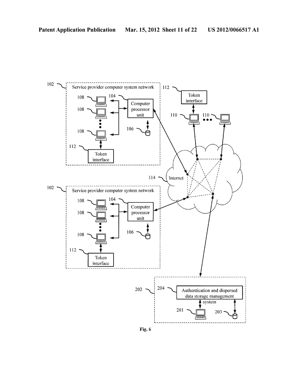 DISPERSED SECURE DATA STORAGE AND RETRIEVAL - diagram, schematic, and image 12