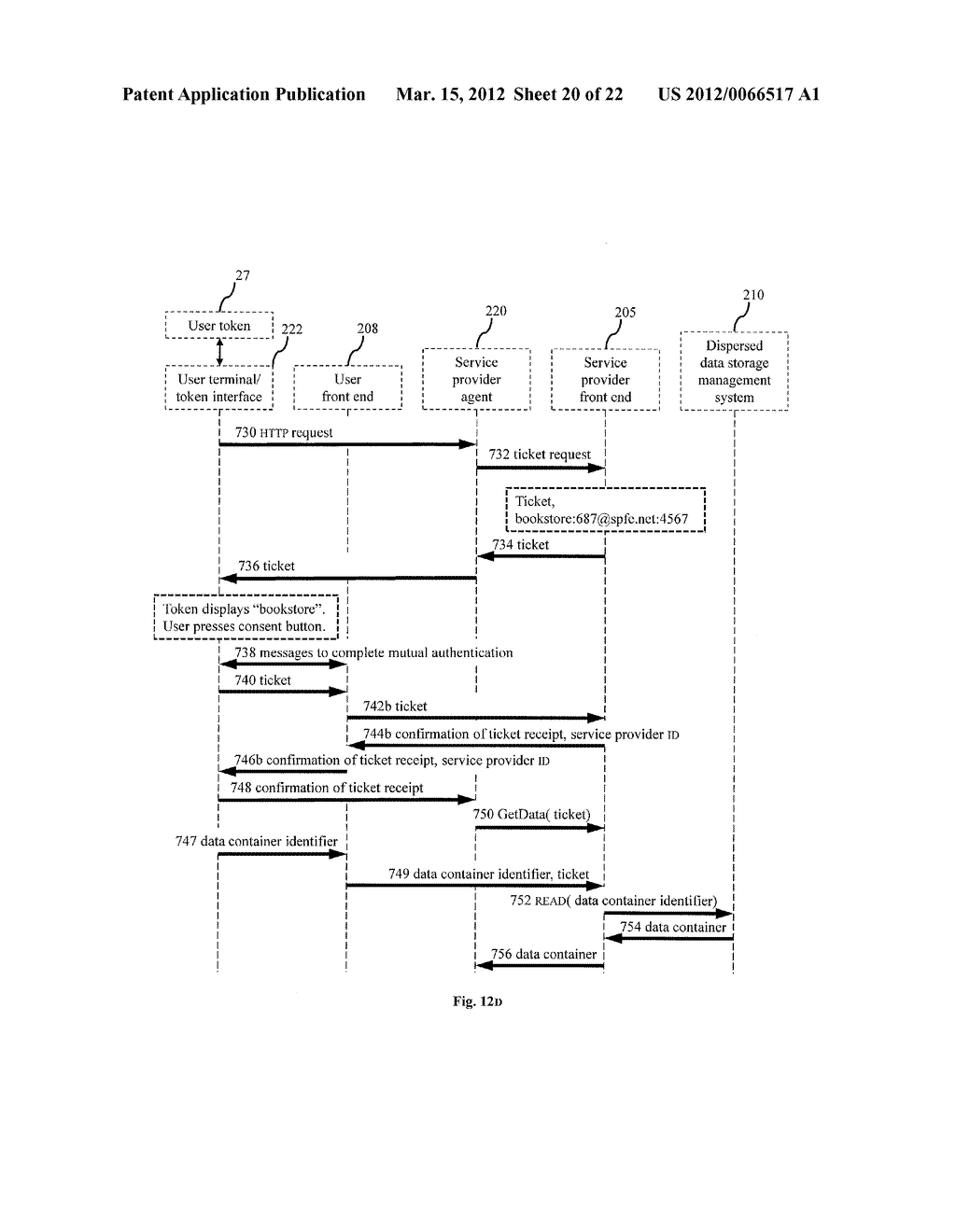 DISPERSED SECURE DATA STORAGE AND RETRIEVAL - diagram, schematic, and image 21